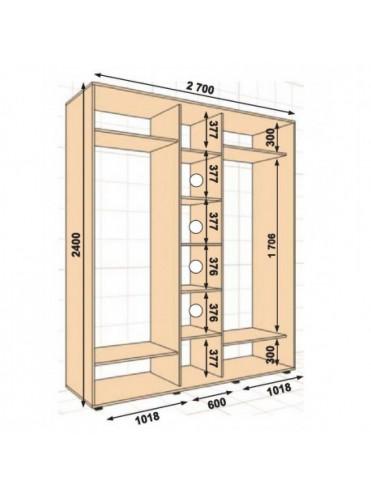 Стандартный ШК-27 (2.7х0.45х2.4)