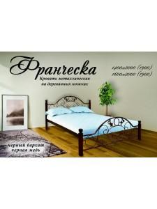 Кровать Франческа дерев. ножки