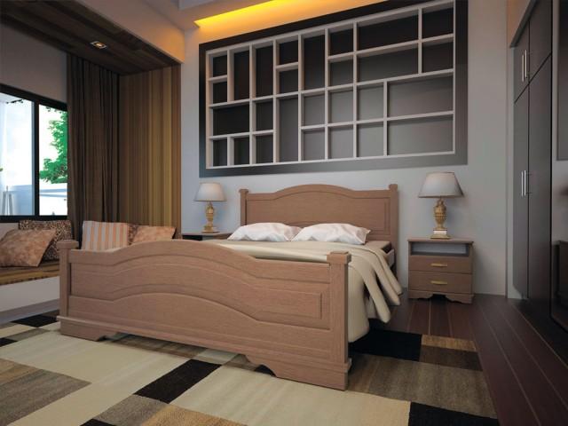 Кровать Двуспальная Атлант 15