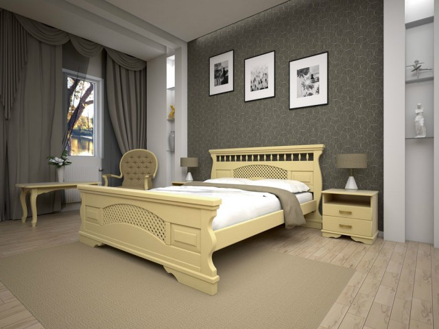 Кровать Двуспальная Атлант 23