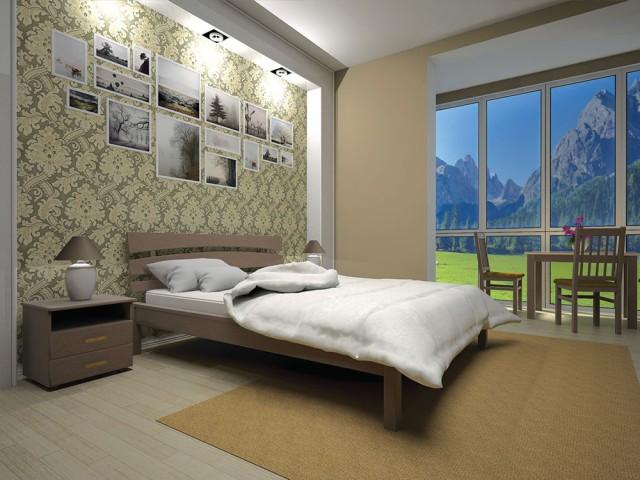 Кровать Двуспальная Домино 3