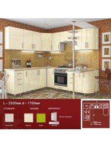 Кухня High Gloss 2.5х1.7