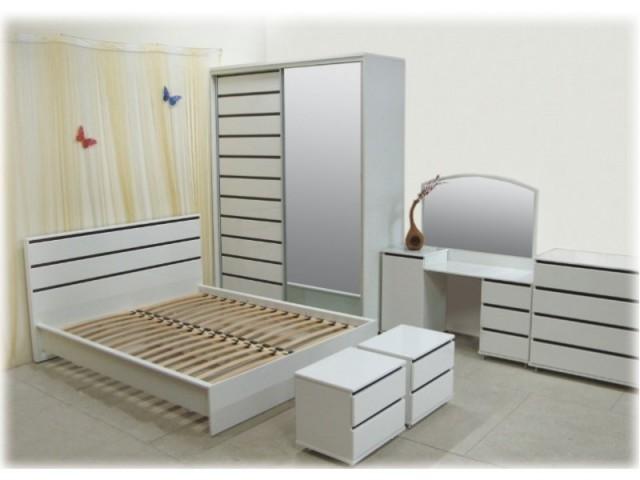 Спальня Прага белая