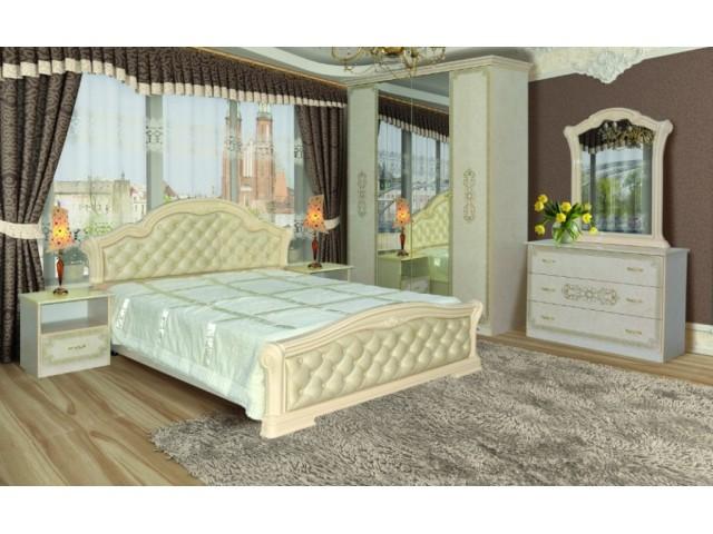 Спальня Венеция новая пино беж