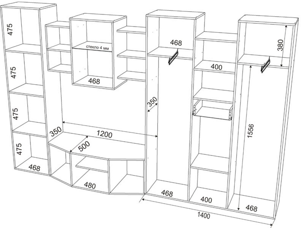 Сборка мебель своими руками чертежи и схемы 166