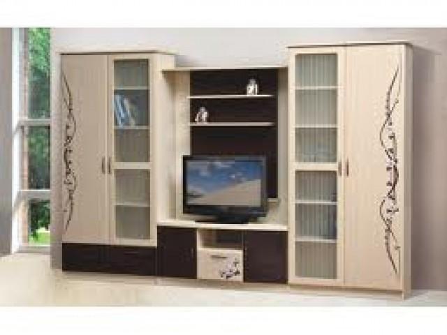 Стенка Сакура с шкафом