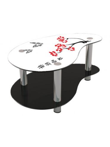 Журнальный стол, стеклянный стол