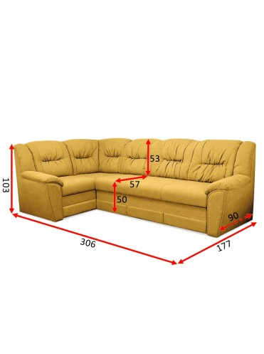 Угловой диван Бруклин(А-31)
